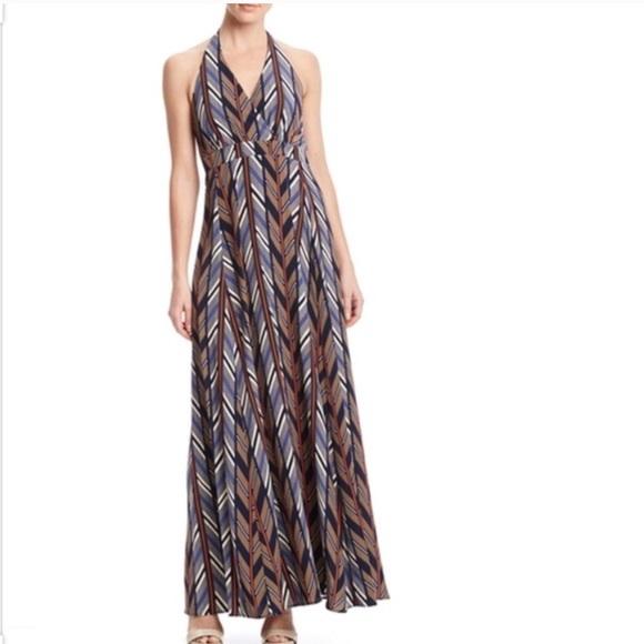 Jessica Simpson Dresses & Skirts - Jessica Simpson Printed Halter Maxi Dress